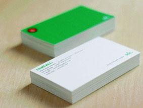 彩色名片印刷